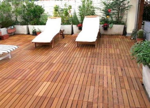 Revêtement de plancher pour la terrasse : que choisir